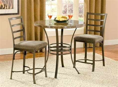 bistro dining is made with small kitchen table sets