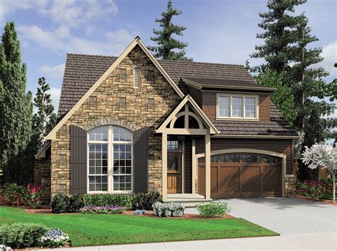 Cottage Design With Large Living Space  69008am