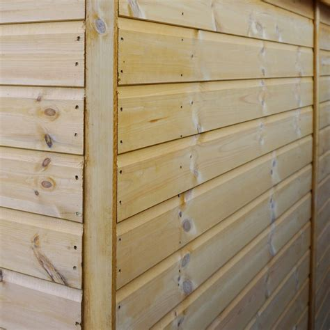 10 x 6 premier tongue and groove apex shed with double