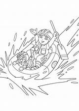 Go Diego Jaguar Baby Coloring Pages Rafting Going Charger Dodge 1969 Chargers Helmet Netart Getdrawings sketch template