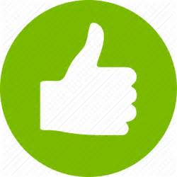 Icon Thumbs Up Fingers