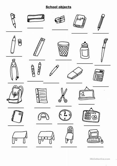 Objects Worksheets English Esl Worksheet Activities Vocabulary