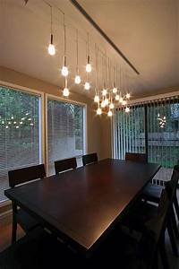 Mini pendant chandelier made from ikea lamps