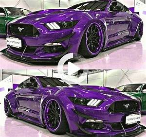The Purple One custom widebody Mustang GT 5.0 in 2020 | Widebody mustang, Mustang gt, Purple car