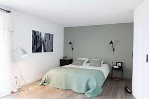 Quelle Couleur Pour Une Chambre à Coucher : mettre de la couleur dans une chambre d 39 adulte c t maison ~ Preciouscoupons.com Idées de Décoration