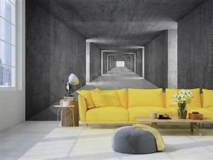 Fototapeten 3d Effekt : neue raumdimension fototapete mit 3d effekt citynews ~ Watch28wear.com Haus und Dekorationen