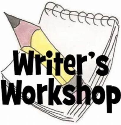Workshop Clipart Writer Writing Writers Cartoon Learning