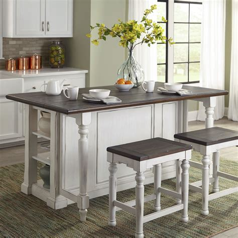 august grove kitchen island  wood top reviews