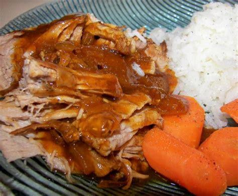 couldnt be easier bbq pork tenderloin crock pot recipe food
