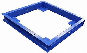 4 x 4 floor scale pit frame