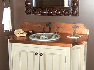 Copper bathroom sinks and vanitiesmedium size of fancy for Kitchen cabinets lowes with metal wall art circles
