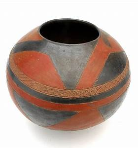 Africa | Swazi terracotta pot from South Africa | 20th ...