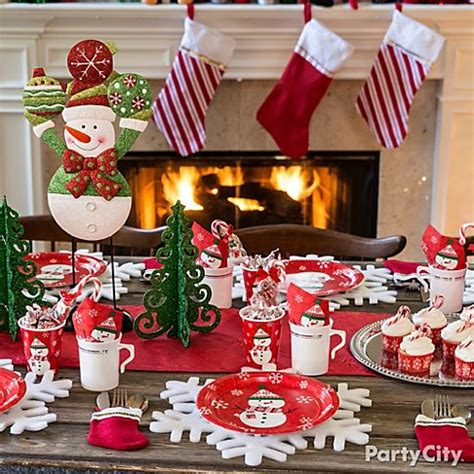 A Flurry Of Friendly Christmas Decorating Ideas  Party City