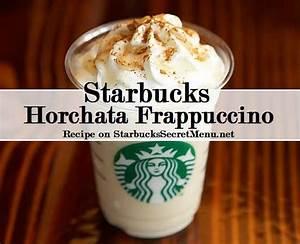 Starbucks Horchata Frappuccino | Starbucks Secret Menu