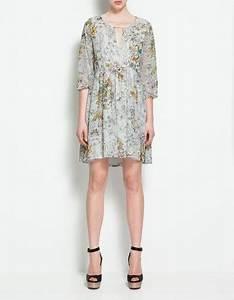 robe asymetrique trenditude With affiche chambre bébé avec robe à fleurs zara