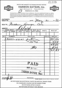 datsun invoice to nissan foreign car 1982 With nissan dealer invoice