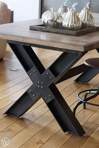 Table Bois Et Noir : les 25 meilleures id es de la cat gorie table industrielle ~ Dailycaller-alerts.com Idées de Décoration