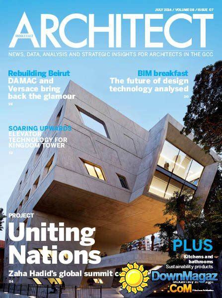 Middle East Architect  July 2014 » Download Pdf Magazines