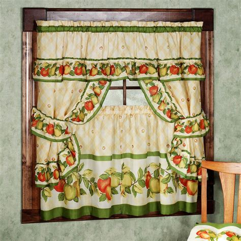 Kitchen Curtains Vintage Kitchen Curtains Vintage Style