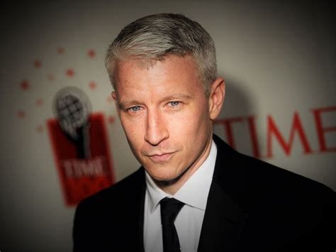 Anderson Cooper Short Hairstyle   HairstylesMill