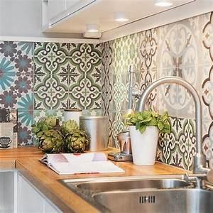Cuisine Carreaux De Ciment Kitchen Cuisine A Interior Design