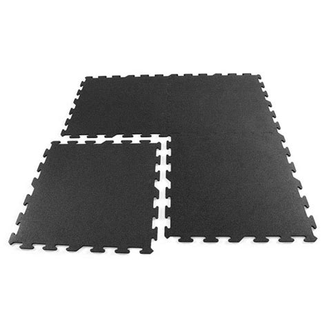black interlocking rubber tiles  ft interlocking