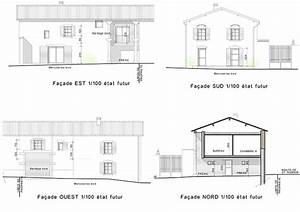 plan facade maison faade maison plan de maison faades With plan de maison facade