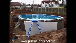 Enterrer Une Piscine Hors Sol : enterrer une piscine gre youtube ~ Melissatoandfro.com Idées de Décoration