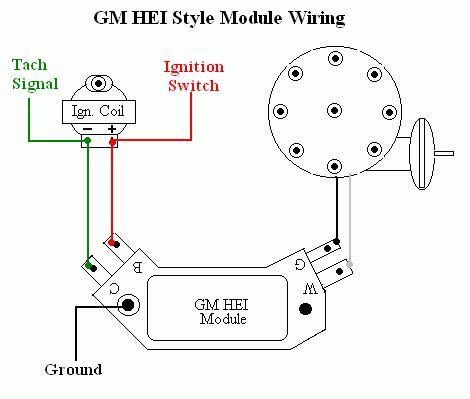 Gm Hei Module Wiring by No Spark Start Condition Ericthecarguy Ericthecarguy
