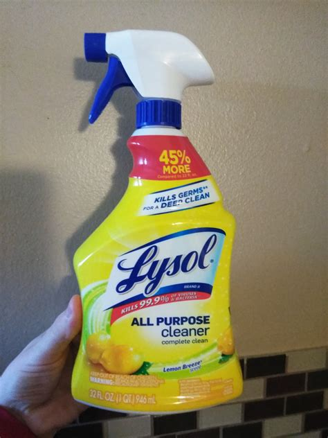 Lysol All Purpose Cleaner Lemon Breeze reviews in Kitchen