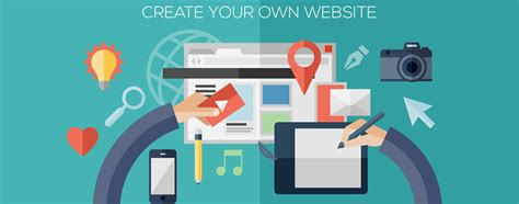 design your own best website builders software to create free websites