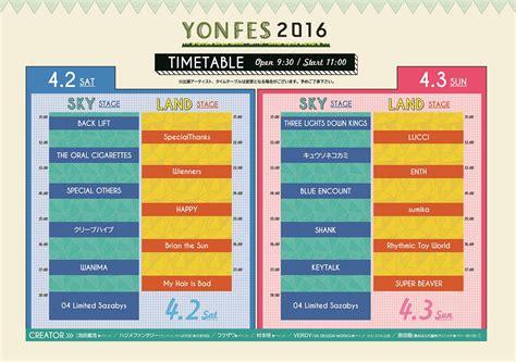 04 Limited Sazabys主催『yon Fes 2016』、クリエーター出演