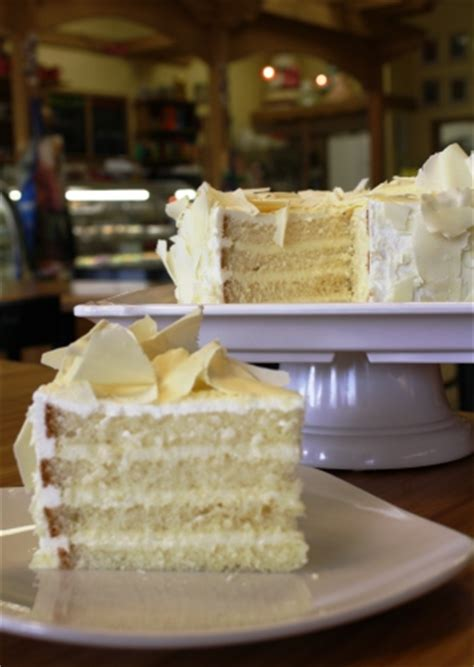 swiss bakery white chocolate mousse cake