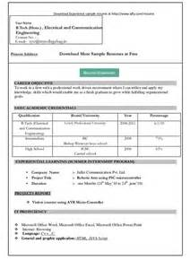 Ms Word Resume Format For Freshers by Bizdoska Page 6 Performance Appraisals Template