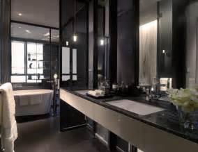 Black And White Bathroom Designs Black White Bathroom Interior Design Ideas