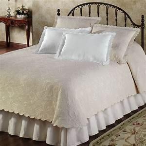 Botanica, Woven, Matelasse, Coverlet, Bedding