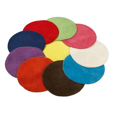 pin tapis rond collection flower shape diam tre on