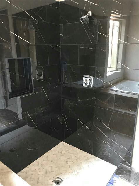 daltile ma polished nero marble attache tile