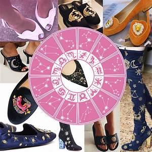 Fashion Astrology Zodiac Shoes Astrological Footwear