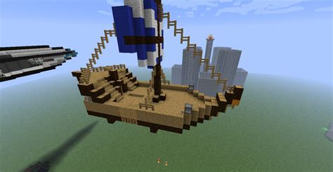 Minecraft Boat Banner by Small Boat Minecraft Project