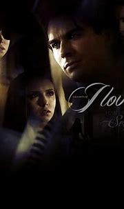 Elena and Damon - Damon & Elena Wallpaper (26598038) - Fanpop