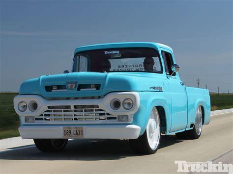 1960 Ford F100  Forgotten Effie  Truckin Magazine