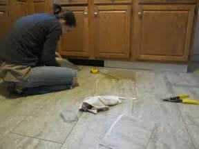 install vinyl tile flooring kitchen bathroom furniture ideas
