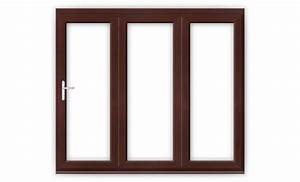 8ft rosewood upvc bifold folding door set flying doors With 8ft bifold doors