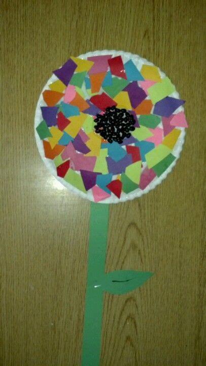 preschool craft flower paper plate construction 782   ca0ca02535fc95a0bcd479210d2ba754
