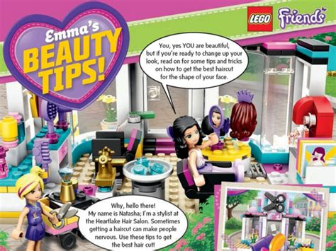 Outrage As Lego Offers Beauty Tips To Seven Year Old Girls