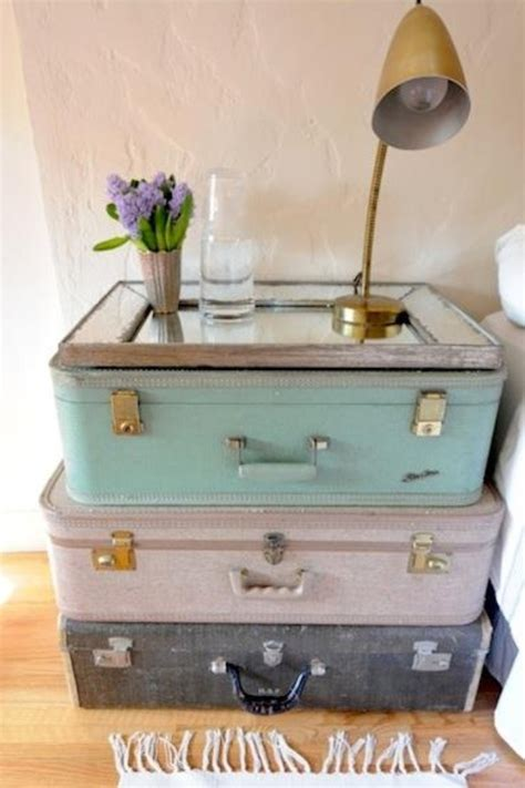 Suitcase Nightstand by Retro Suitcase Nightstand Homegirl