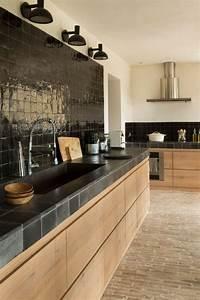 Pinterest Cuisine : cucina in muratura 70 idee per cucine moderne rustiche ~ Carolinahurricanesstore.com Idées de Décoration