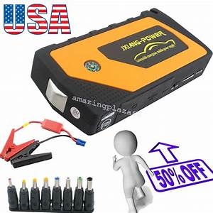 Battery Jump Starter 600a Peak Portable Car Suv Charger