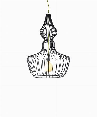 Lighting Sketch Lampshade Wires Coolection Interior